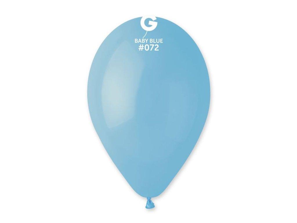 Balonky 100 ks BABY MODRÉ 26 cm pastelové