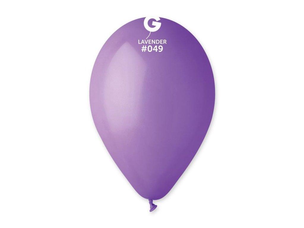 Balonky 100 ks LEVANDULOVÉ 26 cm pastelové