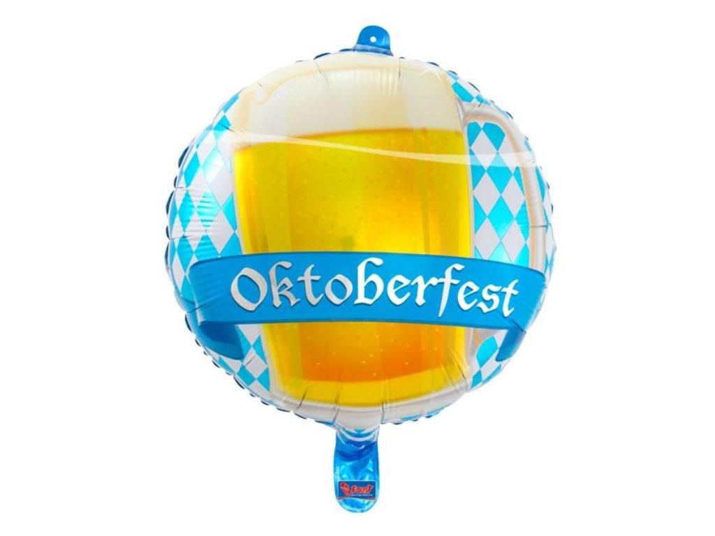 Balón foliový beer- Oktoberfest 45cm