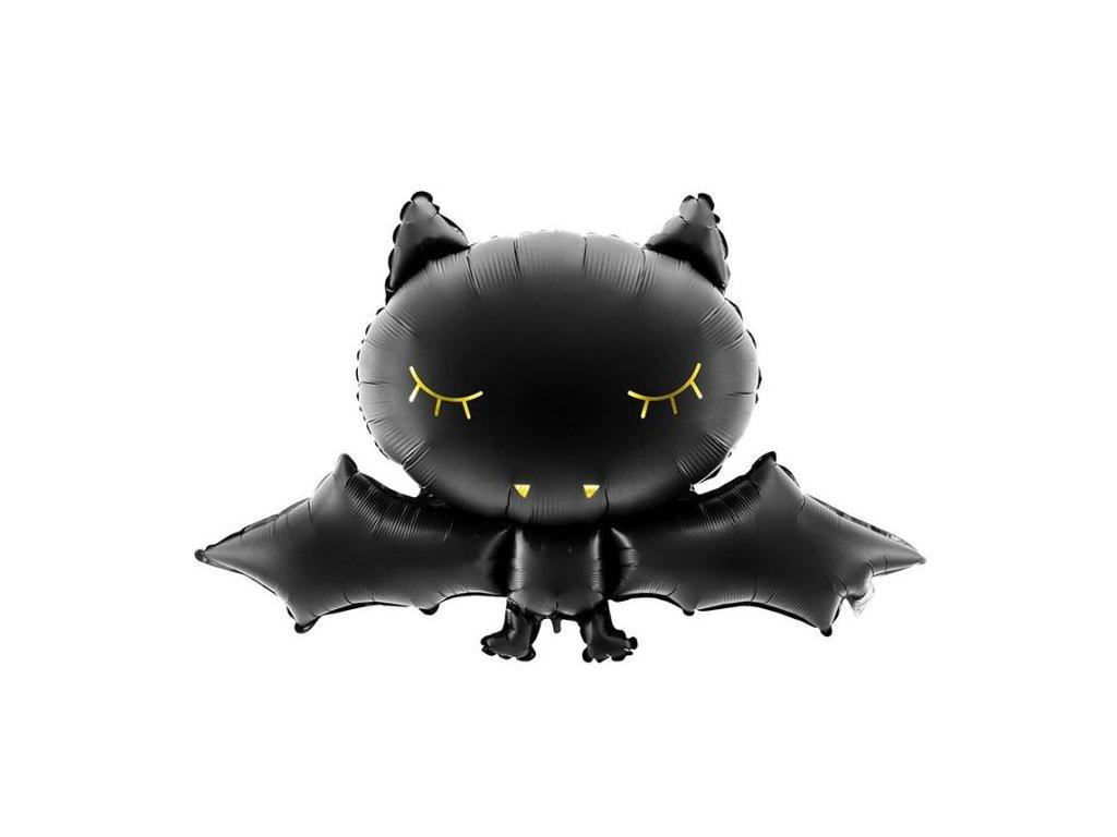 Balón foliový netopýr - Halloween 80x52 cm