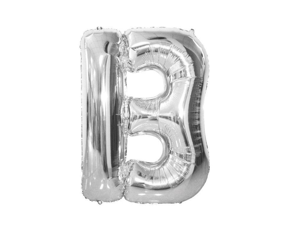 """Balón foliový písmeno """"B"""" 110 cm"""