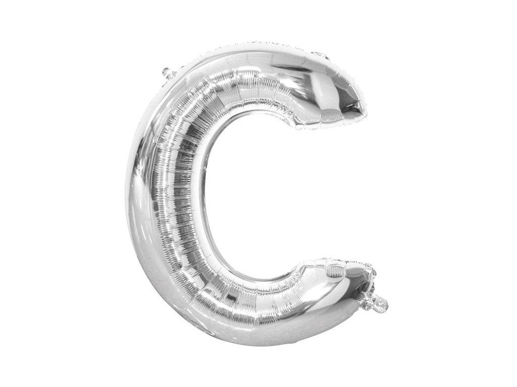 """Balón foliový písmeno """"C"""" 110 cm"""