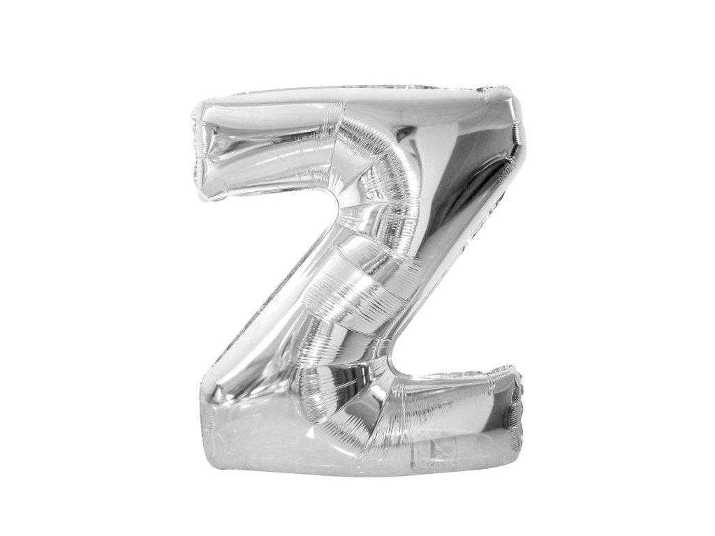 """Balón foliový písmeno """"Z"""" 110 cm"""