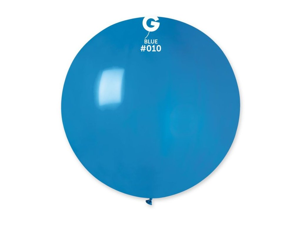 Balón latex 80 cm - modrý 1 ks