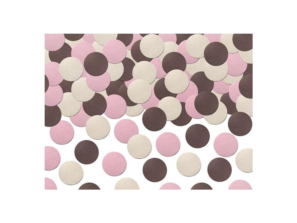 Konfety na stůl Sweets 5 g - růžový mix