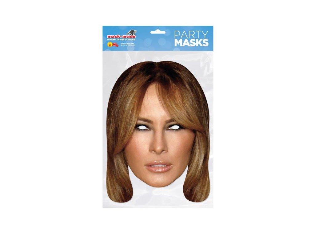 MELANIE TRUMP - Maska celebrit