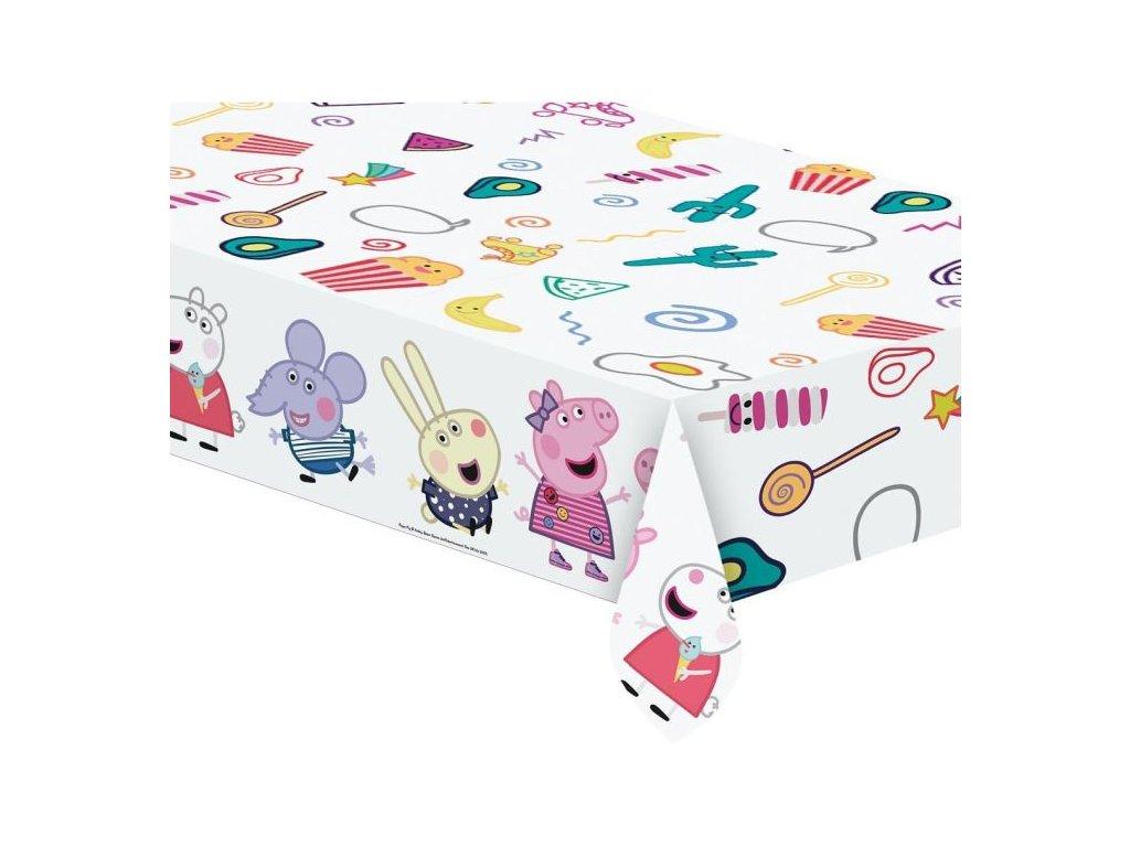 """Plastový ubrus prasátko Peppa """"Peppa Pig"""", 120x180 cm"""