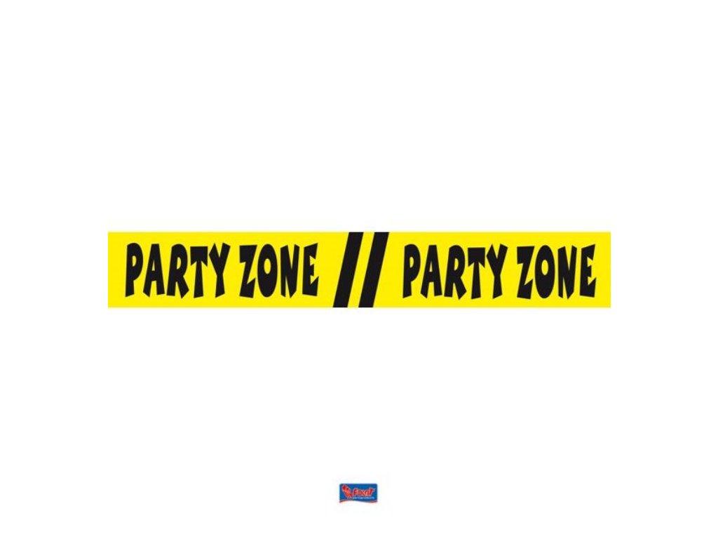 "Značkovací páska ""Party Zone"" 15m"