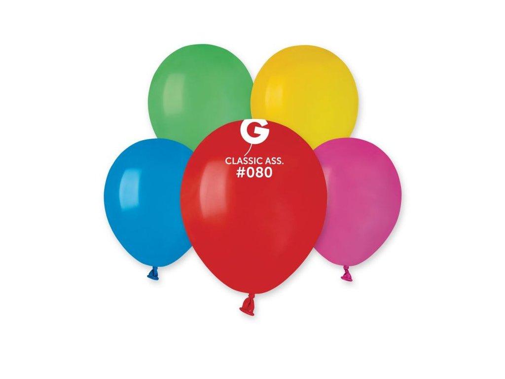 Balónek latexový MINI - 13 cm – Barevný mix 1 KS