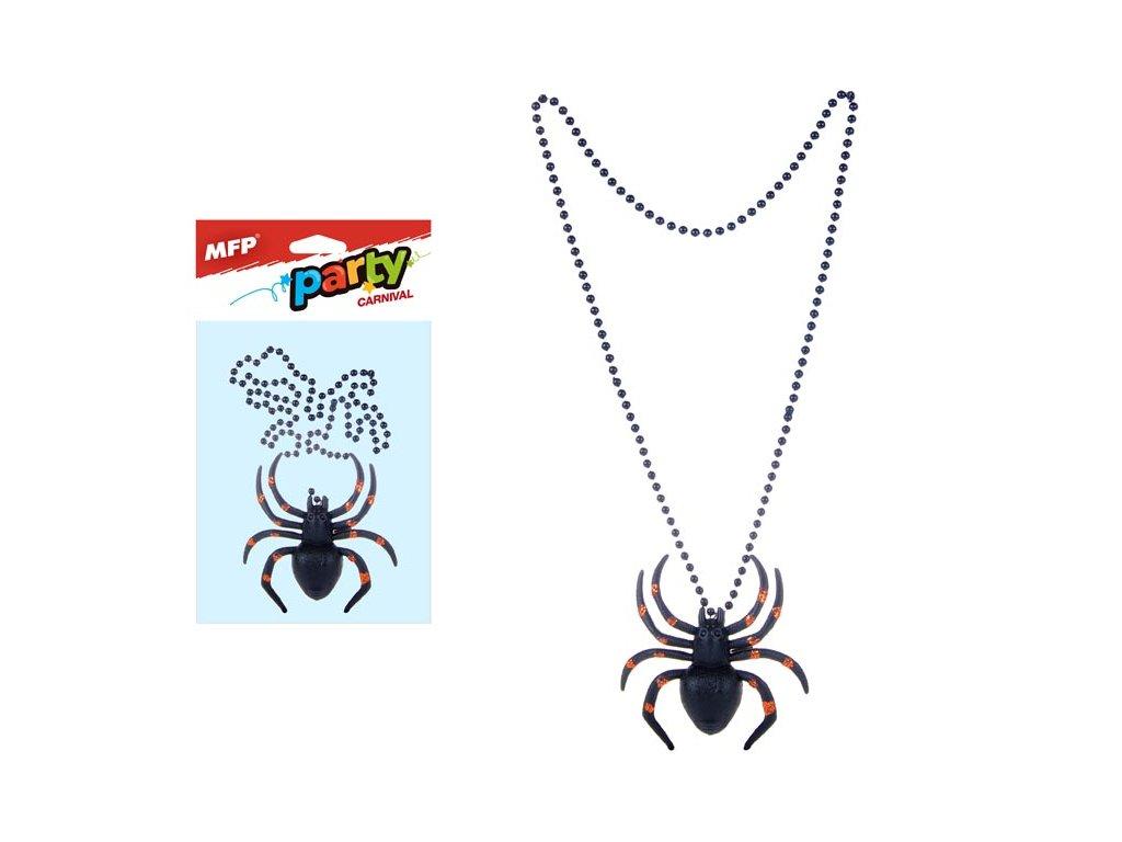 náhrdelník s pavoukem 1041728