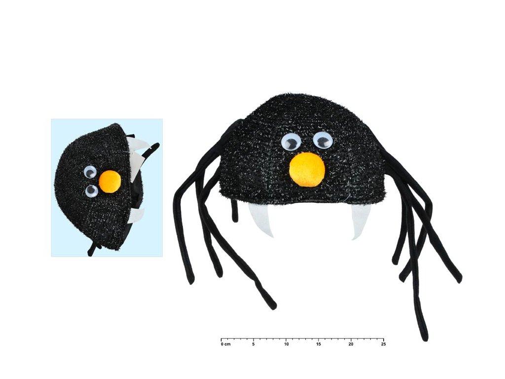 Čepice 880385 pavouk 25cm