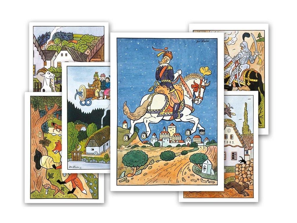 pohlednice pohádky - Josef Lada 1230321
