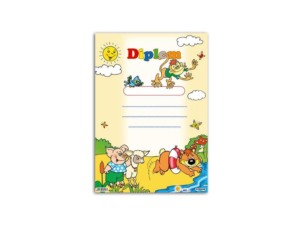 dětský diplom A4 DIP04-002 5300441