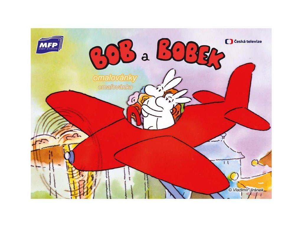 omalovánky A4 Bob a Bobek 5300725