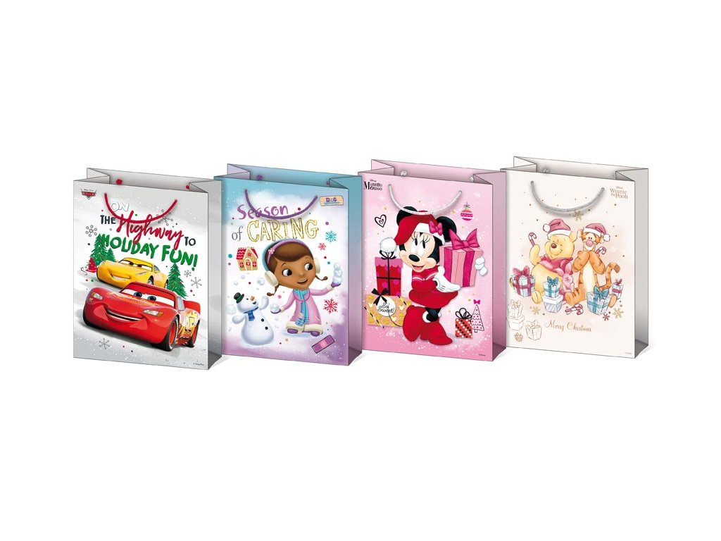 taška vánoční M Disney mix V5 (190x250x90) 5251176