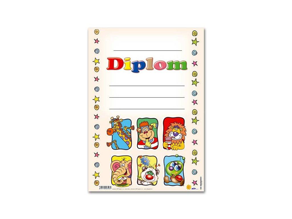 dětský diplom A4 DIP04-008 5300582