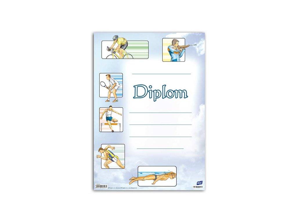 dětský diplom A4 DIP04-006 5300445