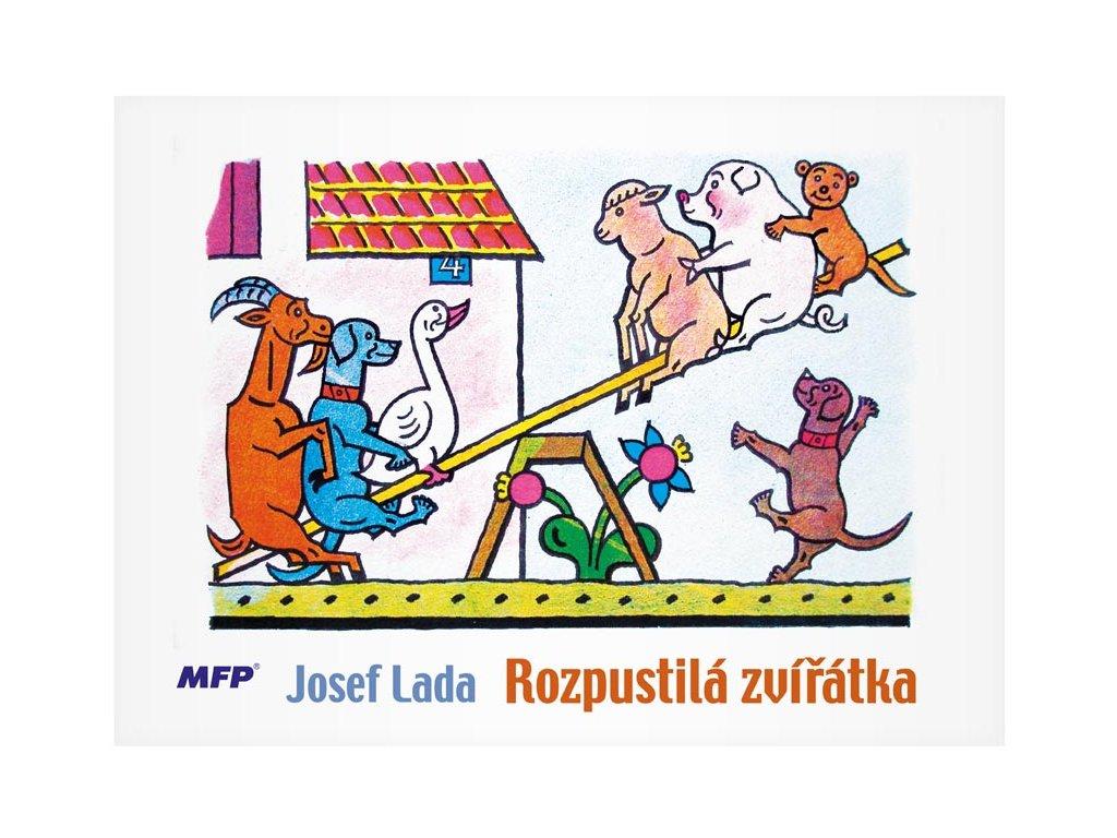 omalovánky Lada - Rozpustilá zvířátka 5300536