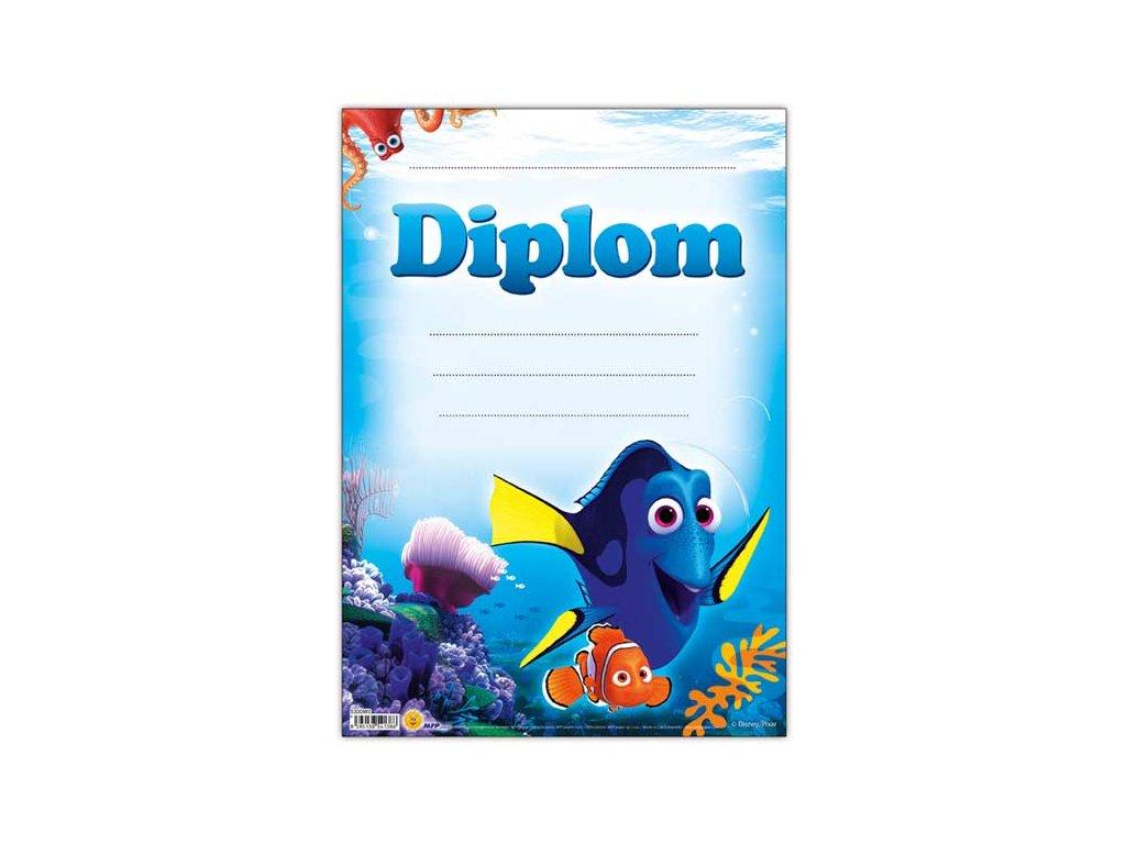 dětský diplom A4 DIP04-Y12 Disney (Hledá se Dory) 5300860