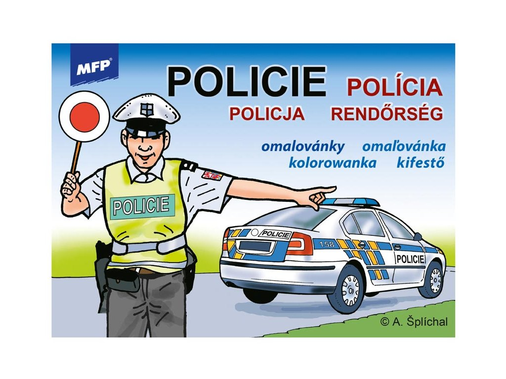 omalovánky Policie 5300459