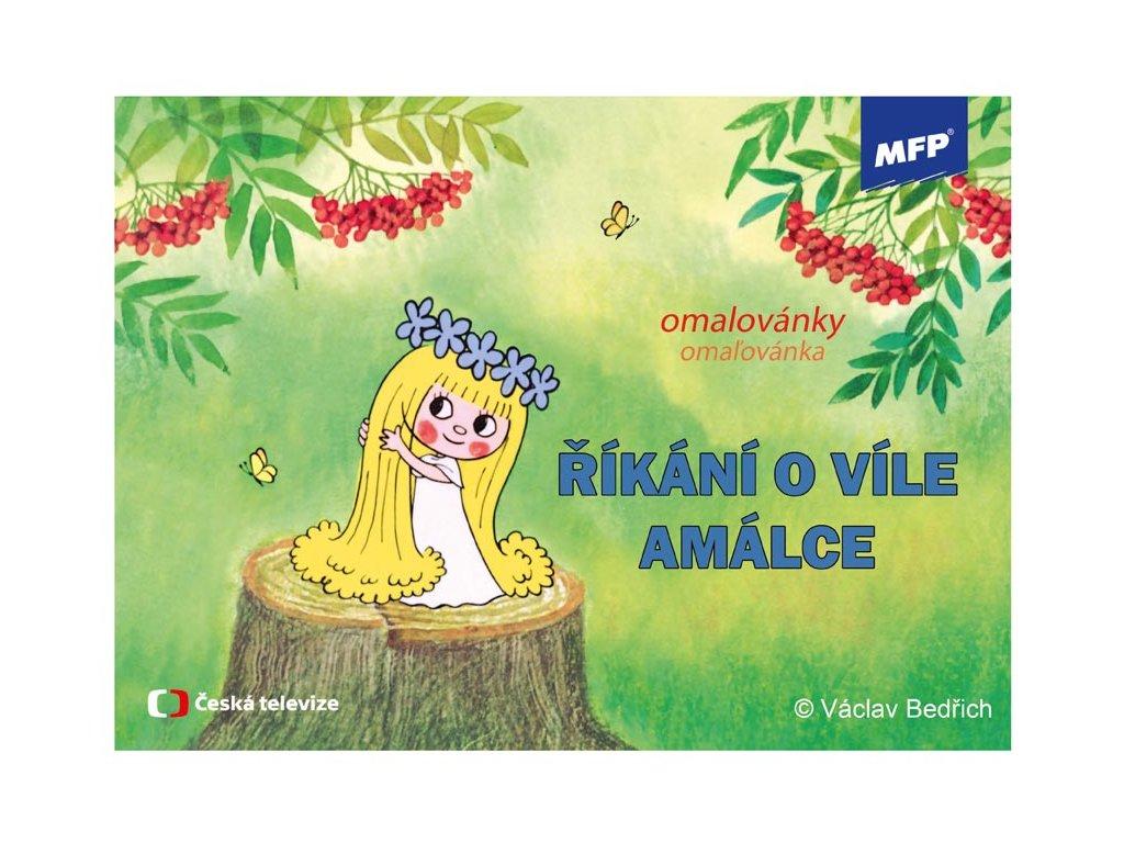 omalovánky Víla Amálka 5300716