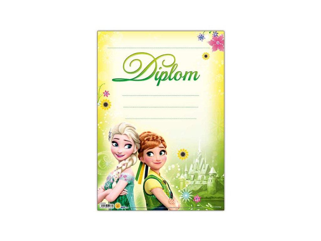 dětský diplom A4 DIP04-Y11 Disney (Frozen) 5300859