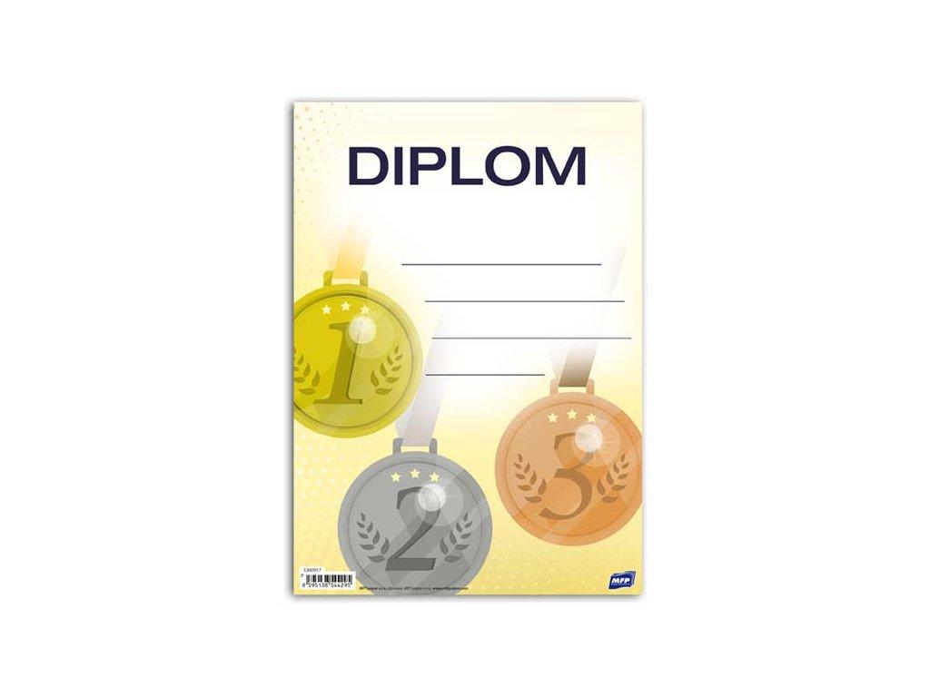 dětský diplom A5 DIP05-010 5300917