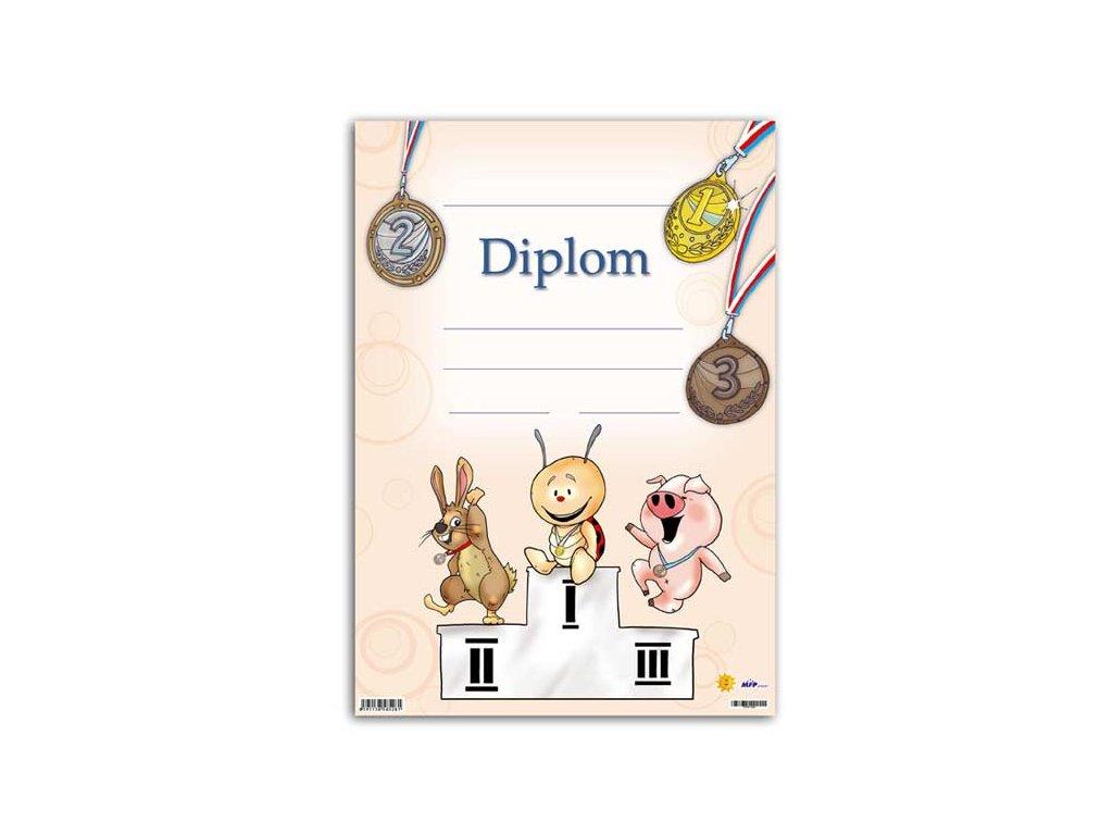 dětský diplom A4 DIP04-004 5300443