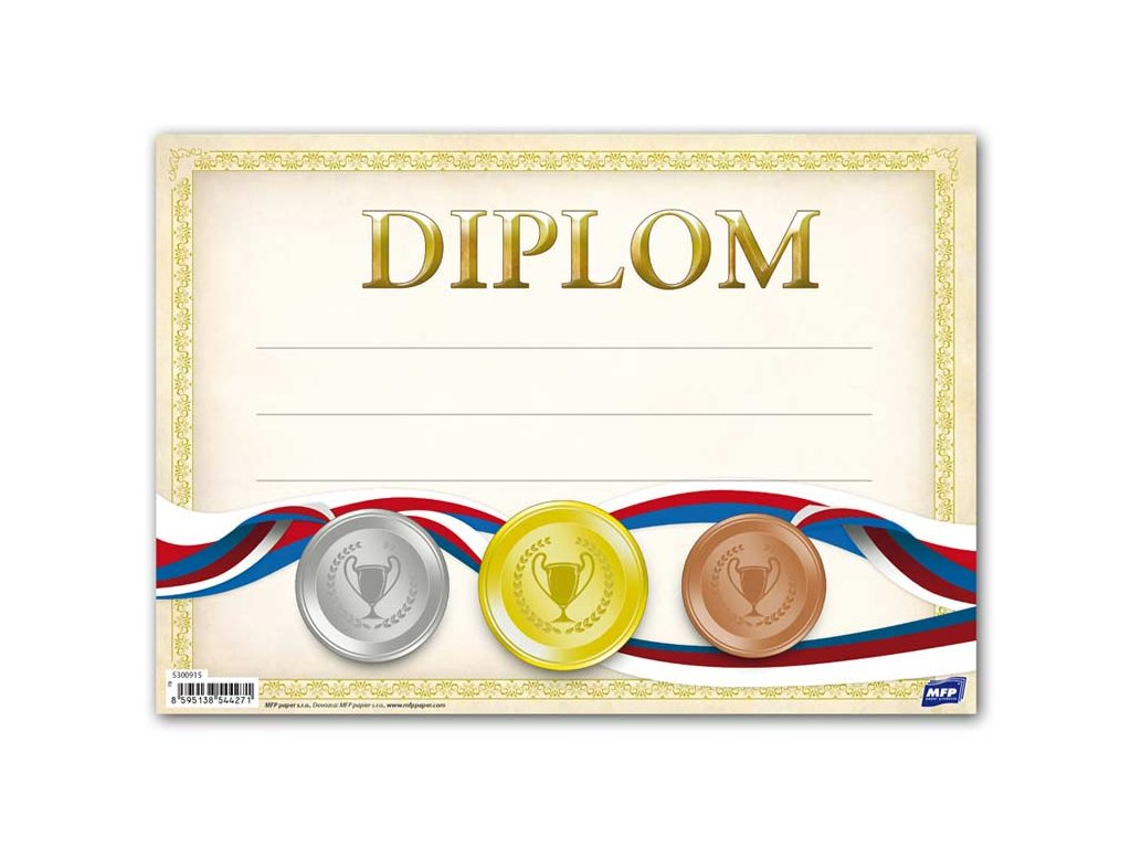 dětský diplom A5 DIP05-008 5300915