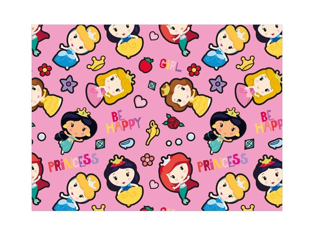 balící papír Disney Y045 (Princess) 100x70 LUX 5811455