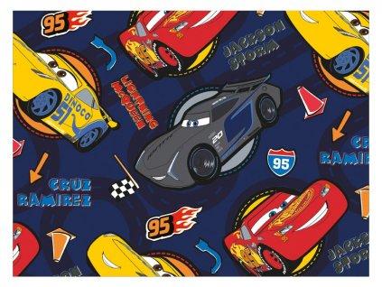 balící papír Disney Y038 (Cars) 100x70 LUX 5811448