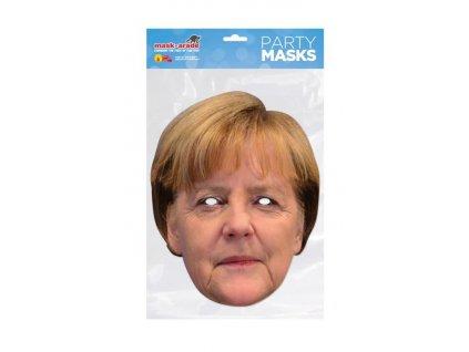 Angela Merkel - maska celebrit