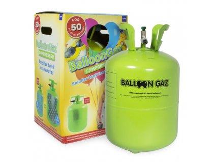 HELIUM DO 50 BALONKŮ - BALLOONGAZ JEDN. NÁDOBA 0,42m3 BEZ balónků