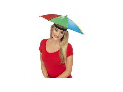 Klobouk deštník - umbrella