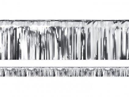 PÁRTY ZÁVĚS STŘÍBRNÝ 18,5 x 400 cm