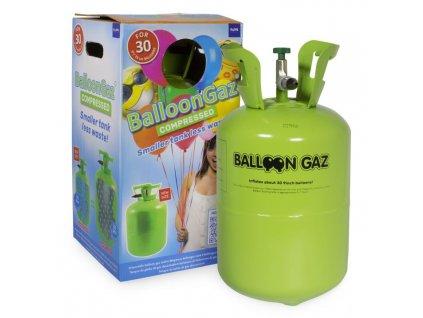 HELIUM DO 30 BALONKŮ - BALLOONGAZ JEDN. NÁDOBA 0,25m3 BEZ balónků