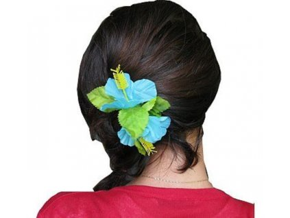Spona do vlasů Havajská malá modrá - Hawaii