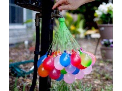 VODNÍ BOMBY - vodní balónky - 1 svazek - 37 balónků