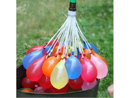 VODNÍ BOMBY - vodní balónky - 3 svazky - 111 balónků