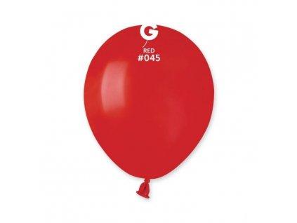 Balónek latexový MINI - 13 cm – Červená 1 KS