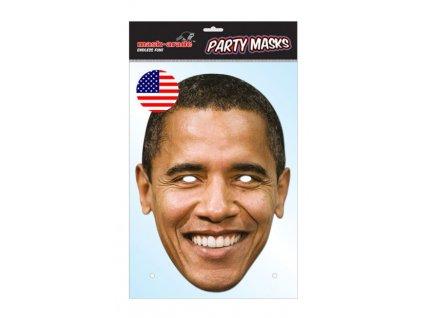 Barack Obama - Maska celebrit - prezident
