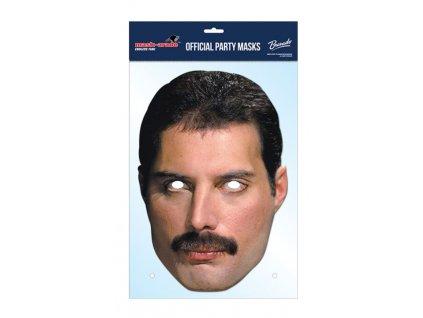 Queen Freddie Mercury - Maska celebrit