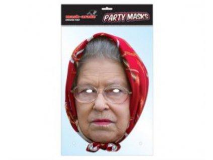 Královna Alžběta (Queen two) - Maska celebrit