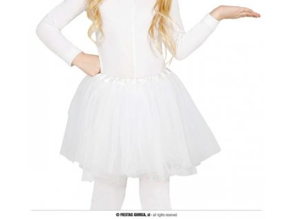 Dětská bílá sukně TUTU 31cm