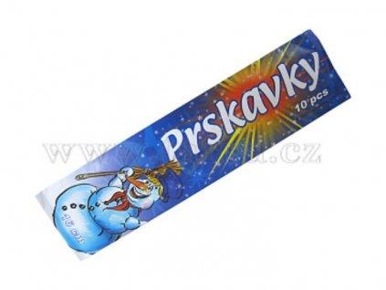 RUČNÍ PRSKAVKY 16 CM - 10 KS - PYROTECHNIKA - 20/50/10