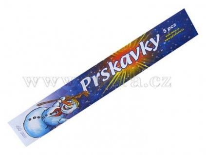 RUČNÍ PRSKAVKY 40 CM - 5 KS - PYROTECHNIKA - 10/10/5