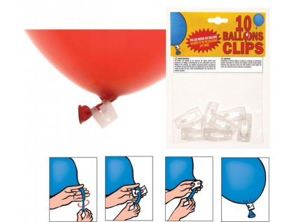 KLIP na latexové balónky - 1 ks