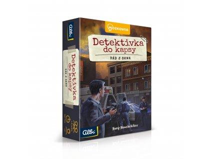 ALBI Detektivka do kapsy - Pád z okna (2. případ)