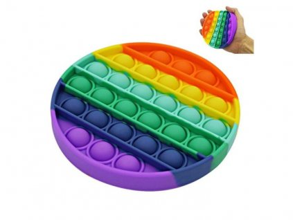 POP IT antistresová hračka kruh rainbow