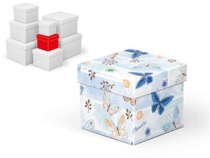 krabice dárková C-C001-B 10x10x9cm 5370656